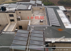 南宁光明九曲澜湾-光热平板集热器