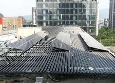 柳州华润万象城--光伏太阳能板