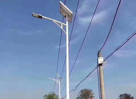 太阳能路灯-6米杆